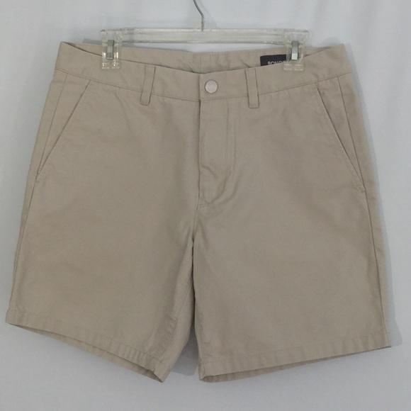 New NWT ELEMENT BLACK khaki chino 100/% cotton shorts men sz 29 or 30